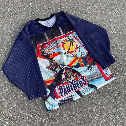 Vintage Flordia Panthers Nhl Hockey Jersey By Ccm