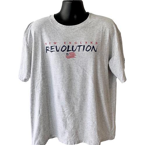 Vintage New England Revolution T Shirt By Reebok