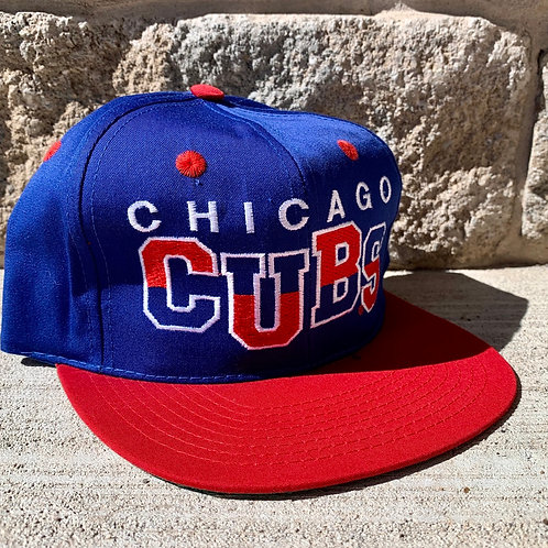 Vintage Chicago Cubs Snapback Hat Youth