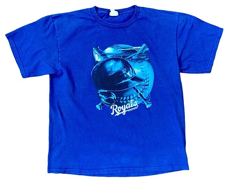 Vintage Kansas City Royals T Shirt By Lee Sports