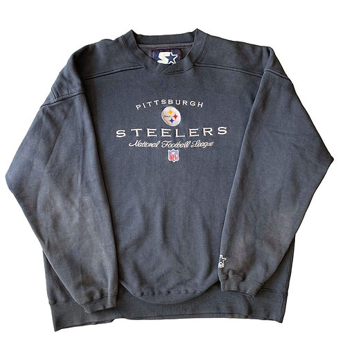 Vintage Pittsburgh Steelers Crewneck Sweater By Starter