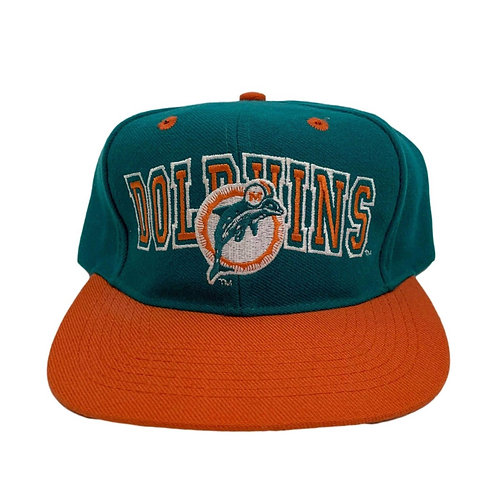 Vintage Miami Dolphins Snapback Hat By Eastport