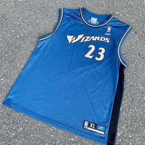 Vintage Washington Wizards Micheal Jordan Nba Basketball Jersey By Reebok