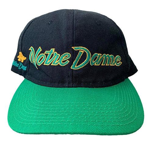 Vintage Notre Dame Irish Sports Specialties Script