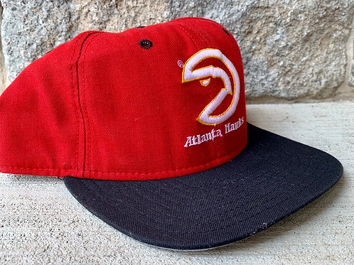 Vintage Atlanta Hawks Snapback Hat by New Era