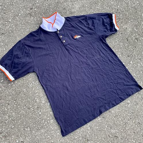 Vintage Denver Broncos Polo Shirt By The Edge