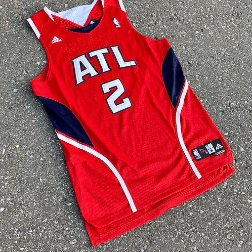 Atlanta Hawks Joe Johnson Nba Basketball Jersey By Adidas