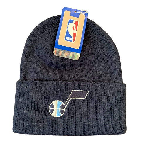 Vintage Utah Jazz Beanie Winter Hat By Adidas