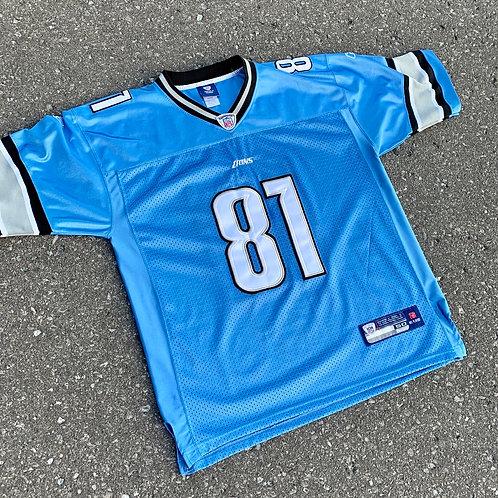 Detroit Lions Calvin Johnson Nfl Football Jersey By Reebok
