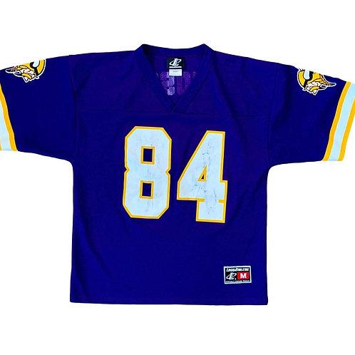 Vintage Minnesota Vikings Randy Moss NFL Football Jersey By Logo Athletic