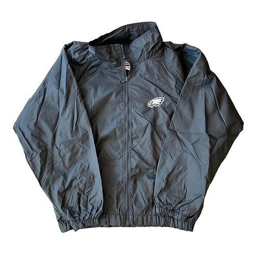 Vintage Philadelphia Eagles Windbreaker Jacket By Logo Athletic