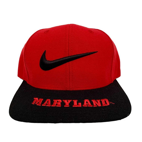 Vintage Maryland Terrapins Snapback Hat By Nike