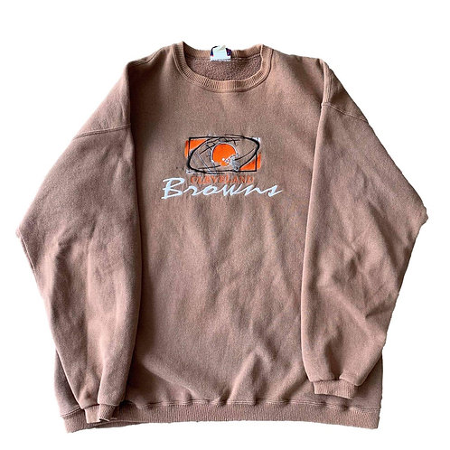 Vintage Cleveland Browns Crewneck Sweater By Cadre Athletic