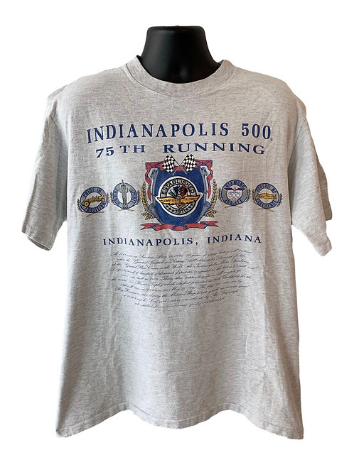 Vintage Indianapolis 500 T Shirt By Nutmeg