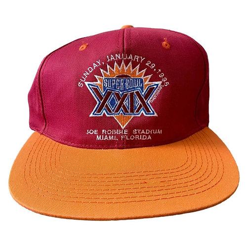 Vintage Super Bowl Flex Fit Hat By New Era