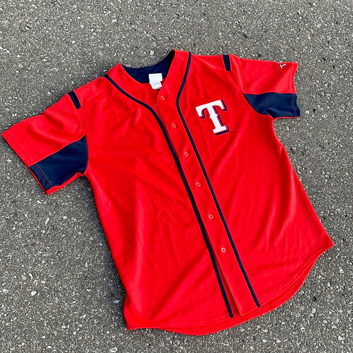 Vintage Texas Rangers MLB Baseball Jersey By Majestic