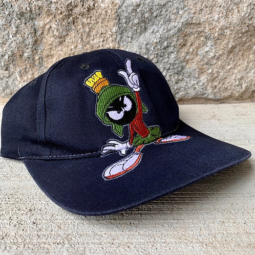 Vintage Marvin The Martian Snapback Hat By Looney Tunes