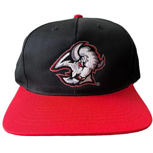 Vintage Buffalo Sabres Snapback Hat By AJM