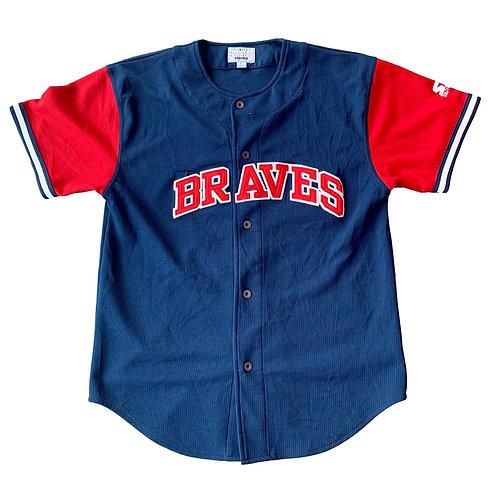 Vintage Atlanta Braves Andres Galarraga MLB Baseball Jersey By Starter