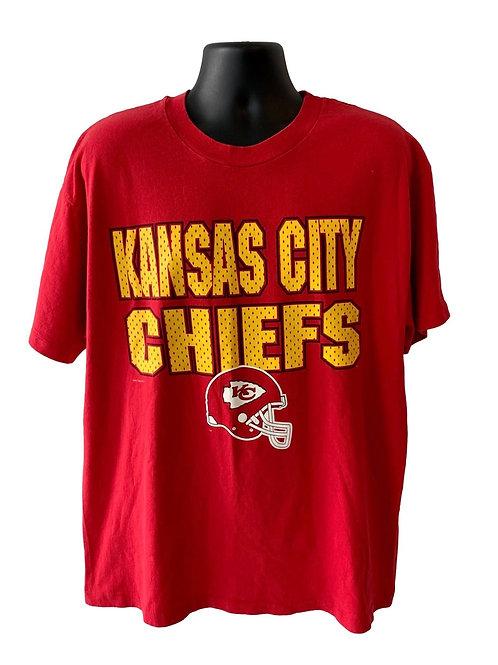 Vintage Kansas City Chiefs T Shirt By Hanes