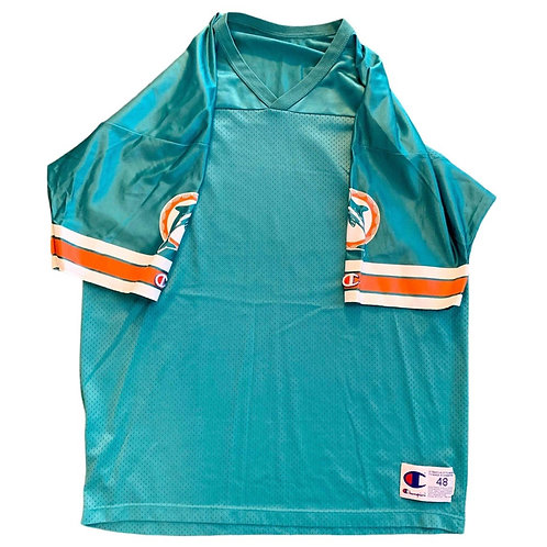 Vintage Miami Dolphins NFL Football Jersey By Champion
