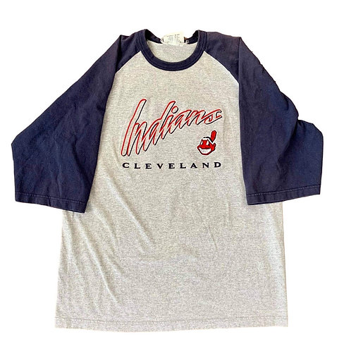 Vintage Cleveland Indians T Shirt By Lee Sport