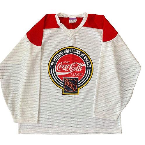 Vintage Coke NHL Hockey Jersey By Kobe