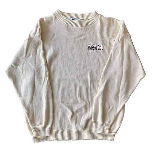 Vintage Duquesne University Crewneck Sweater By Wahlerknits