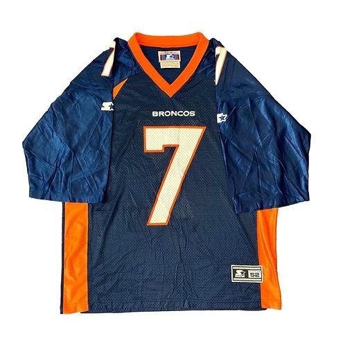 Vintage Denver Broncos John Elway NFL Football Jersey By Starter