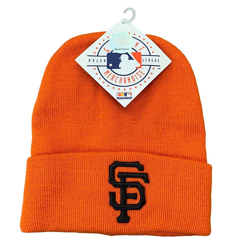 Vintage San Francisco Giants Beanie Winter Hat By Drew Pearson