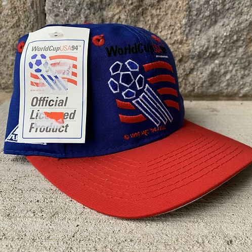 Vintage USA World Cup Of Soccer Snapback Hat By Apex One