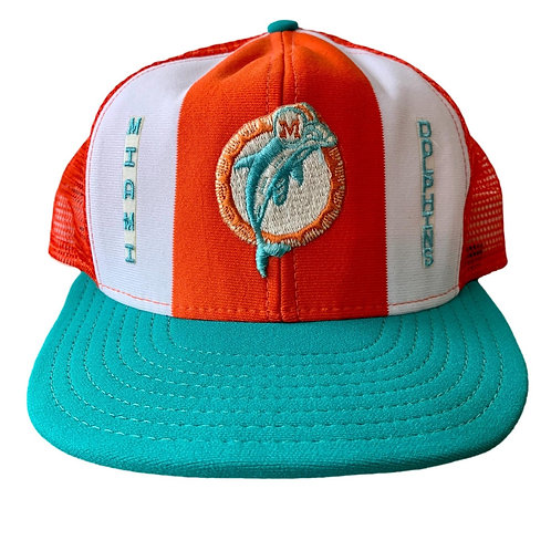 Vintage Miami Dolphins Snapback Hat By AJD