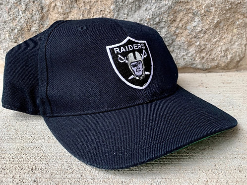 Vintage Oakland Raiders Fitted Hat By Sports Specialties