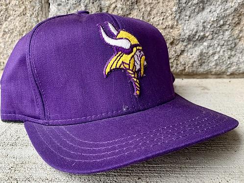 Vintage Minnesota Vikings Snapback Hat By AJD