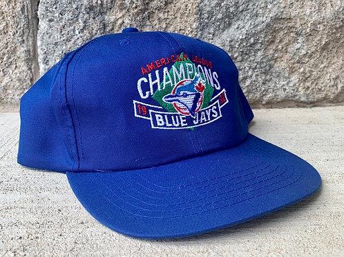 Vintage Toronto Blue Jays Snapback Hat By Starter
