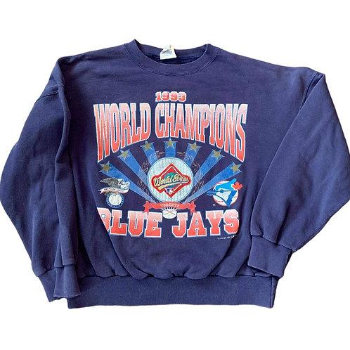 Vintage Toronto Blue Jays Crewneck Sweater By Nutmeg
