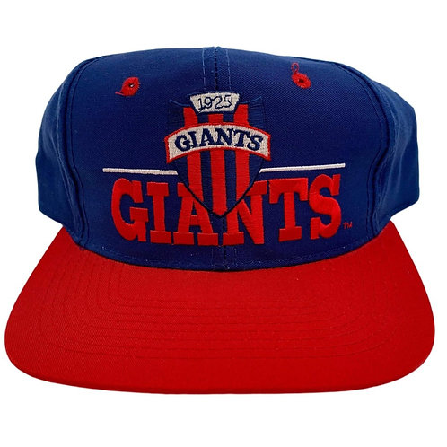 Vintage New York Giants Snapback Hat By The Game