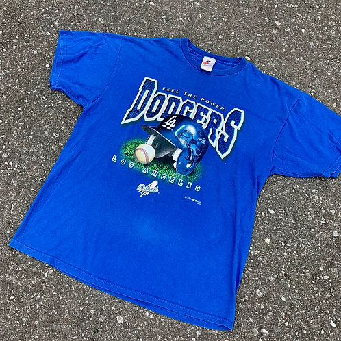 Vintage Los Angeles Dodgers T Shirt By Hank Arrons
