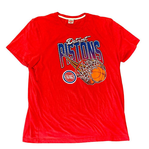 Vintage Detroit Pistons T Shirt By Homage