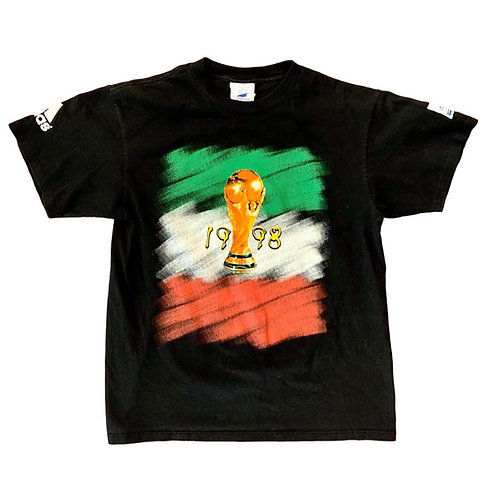 Vintage 1998 World Cup Of Soccer T Shirt By Adidas
