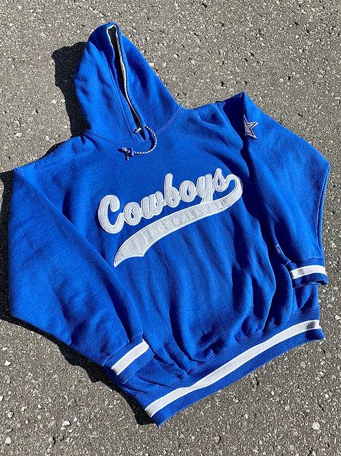 Vintage Dallas Cowboys Starter Script Hoodie Sweater