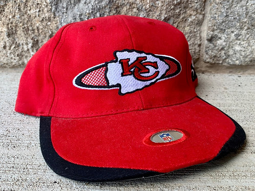 Vintage Kansas City Chiefs Velcroback Hat by Sports Specialties