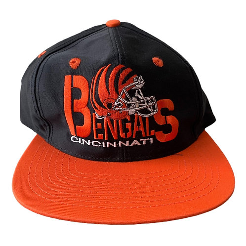 Vintage Cincinnati Bengals Snapback Hat By Eastport