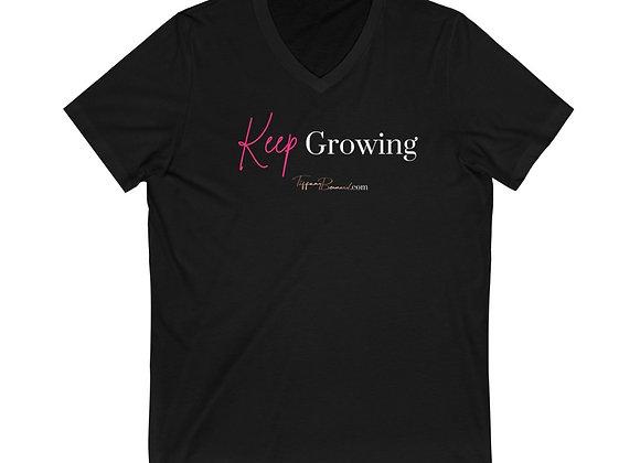 Keep Growing: Unisex V-Neck
