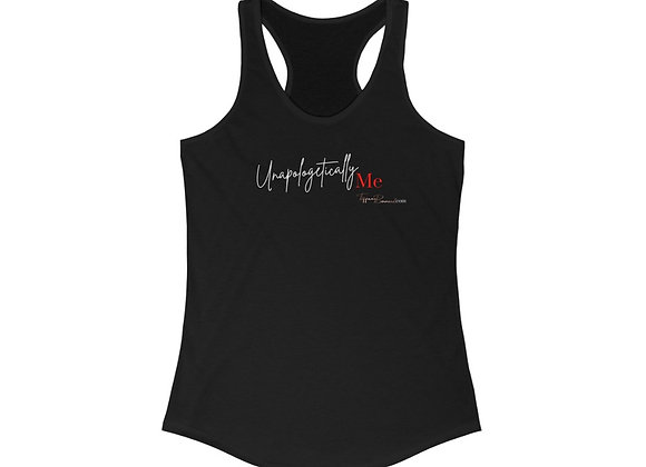 Unapologetically Me: Red Edition Tank Top (Women's Racerback)
