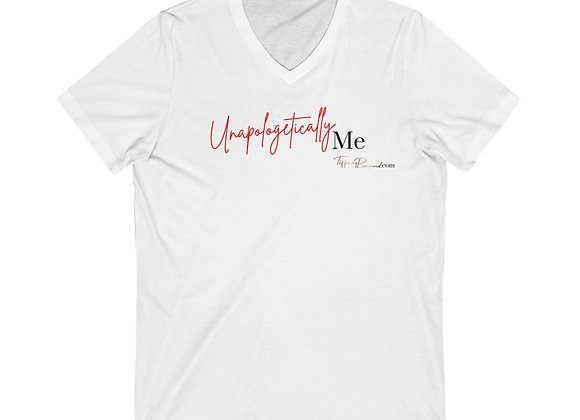 Unapologetically Me: Red Edition V-Neck (Unisex)