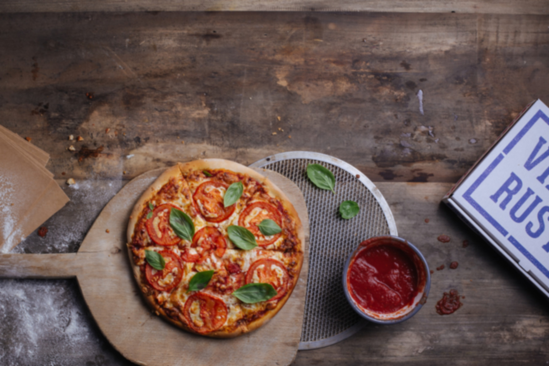 Plats à emporter Pizza