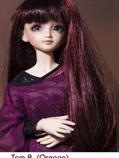 Trix wig color: Black and purple size 7/8