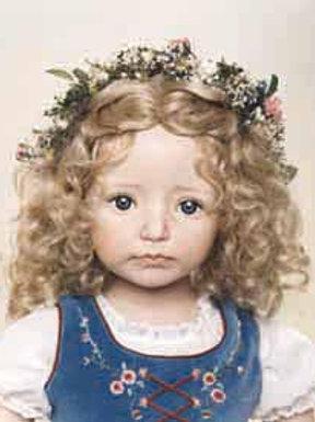 Laura ex wig color blonde size 7/8