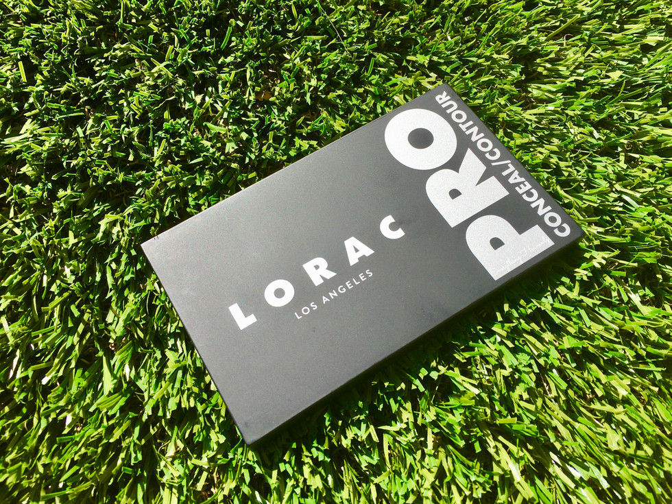 LORAC Pro Conceal/Contour Palette & Brush: First Impression & Review